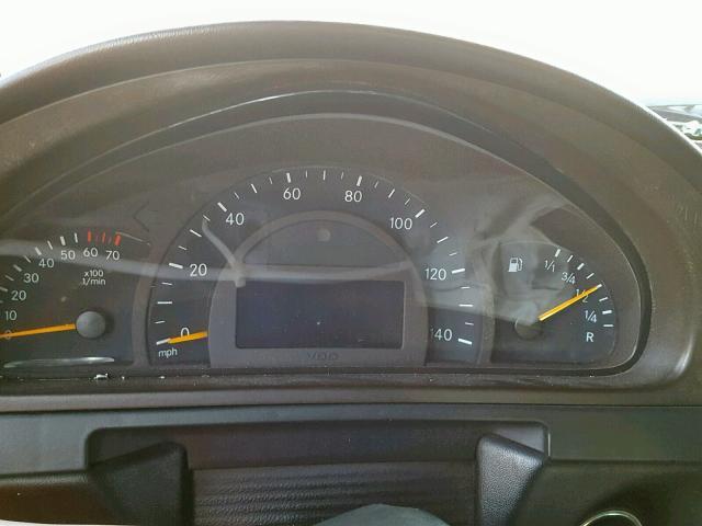 WDCYR49E12X131165 - 2002 MERCEDES-BENZ G 500 BLACK photo 8