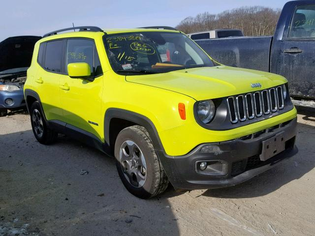 Jeep Yellow Renegade