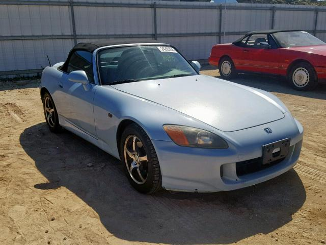 Honda S2000 Price >> 2001 Honda S2000 Blue Jhmap114x1t007639 Price History History Of Past Auctions