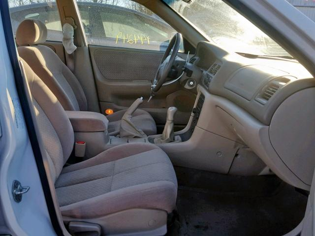1yvgf22c015210516 2001 mazda 626 es white price history history of past auctions prices and bids history of salvage and used vehicles cars bids history