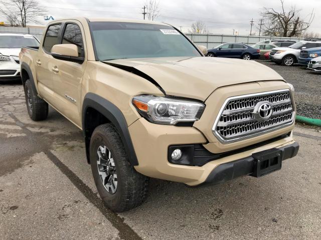 Tan Toyota Tacoma >> 2016 Toyota Tacoma Dou Tan 3tmcz5an6gm034557 Price History History Of Past Auctions
