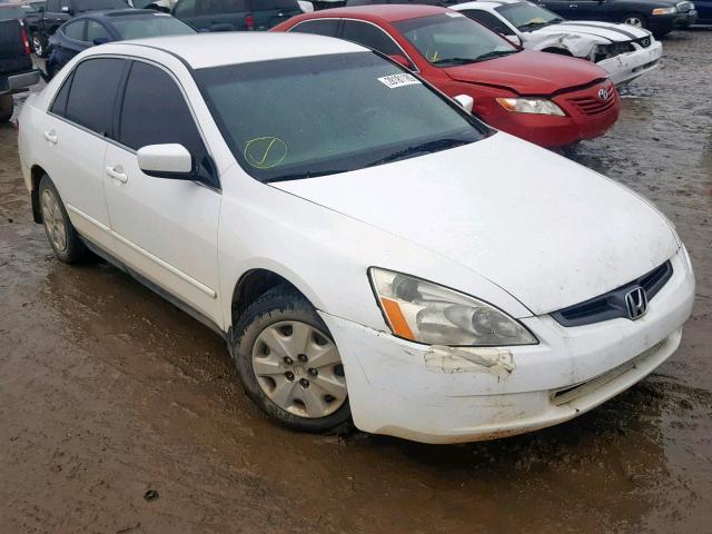 2003 Honda Accord Lx >> 2003 Honda Accord Lx White 1hgcm56363a062082 Price History History Of Past Auctions