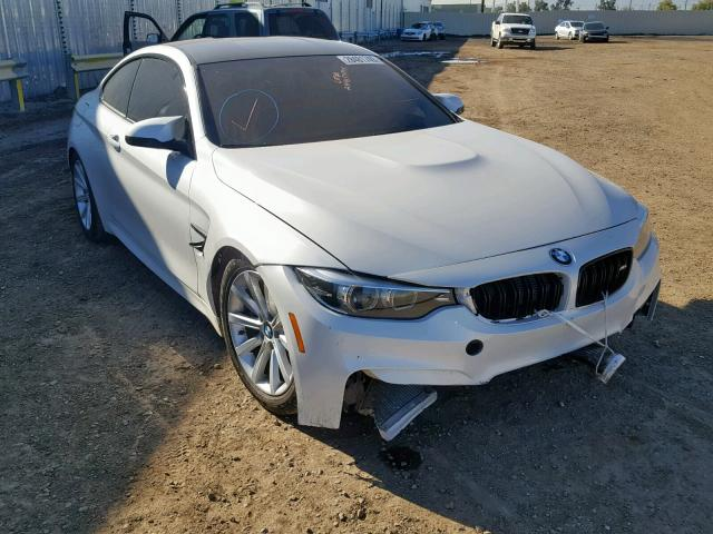 2018 Bmw M4 White Wbs4y9c56jaa85942 Price History History Of Past Auctions
