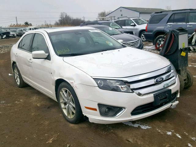 White Ford Fusion >> 2012 Ford Fusion Sel White 3fahp0ja0cr319866 Price History History Of Past Auctions