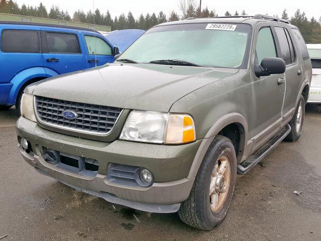 1fmzu73ex2za44996 2002 ford explorer x green price history history of past auctions prices and bids history of salvage and used vehicles cars bids history