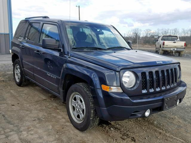 2014 JEEP PATRIOT SP, BLUE, 1C4NJRBB1ED730666 -, price history, history of  past auctions