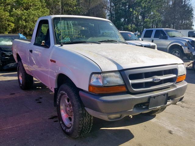 1ftyr10v0yta58792 2000 Ford Ranger White Price History