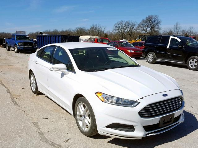 White Ford Fusion >> 2013 Ford Fusion Se White 3fa6p0h79dr372682 Price History History Of Past Auctions
