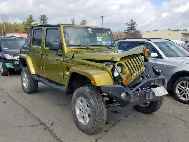 Green Jeep Wrangler >> 2008 Jeep Wrangler U Green 1j4ga59178l512685 Price History History Of Past Auctions