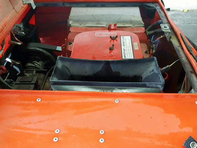 NKB8463V88823 - 1988 ARGO V88823 ORANGE photo 6