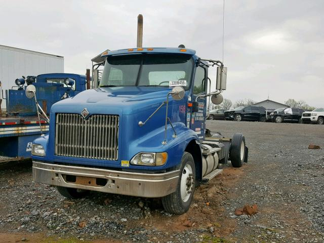 2HSCESBR65C144553 - 2005 INTERNATIONAL 9200 9200I BLUE photo 2