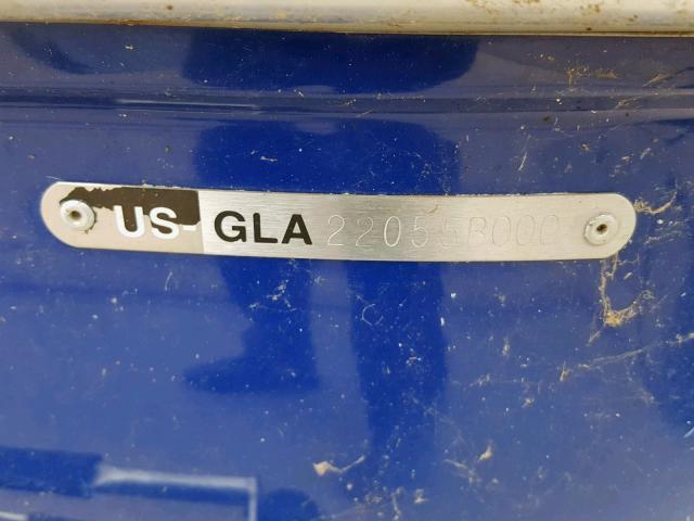 GLA22055B000 - 2000 GLAS GX-185 SKI BLUE photo 20