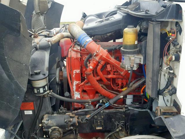 2HSCEAPR67C340062 - 2007 INTERNATIONAL 9200 9200I WHITE photo 7