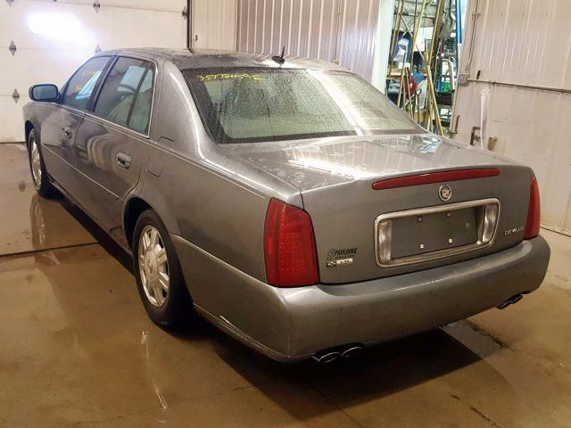 1G6KD54Y15U258041 - 2005 CADILLAC DEVILLE GRAY photo 3