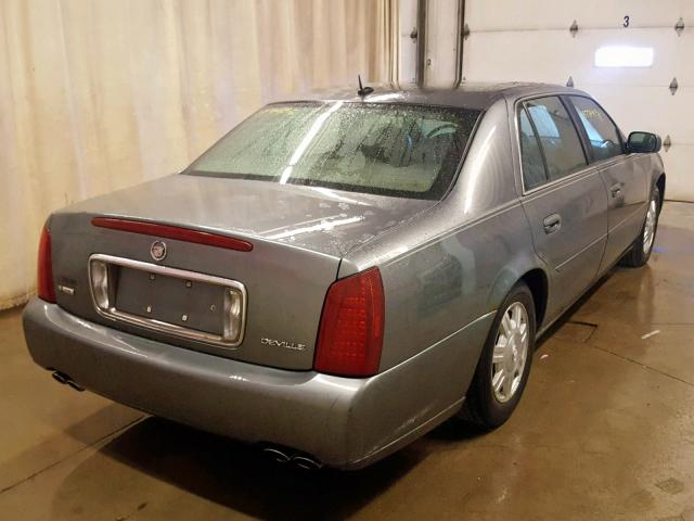 1G6KD54Y15U258041 - 2005 CADILLAC DEVILLE GRAY photo 4
