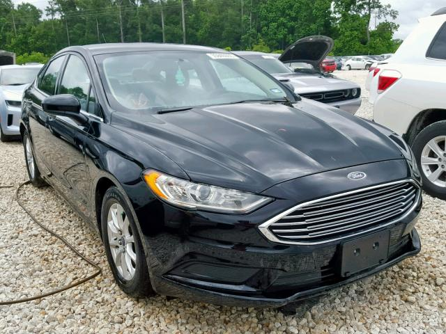 2017 FORD FUSION S,