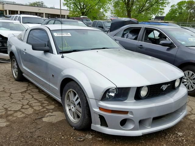 2006 FORD MUSTANG GT, SILVER, 1ZVFT82H465159339 -, price history, history  of past auctions