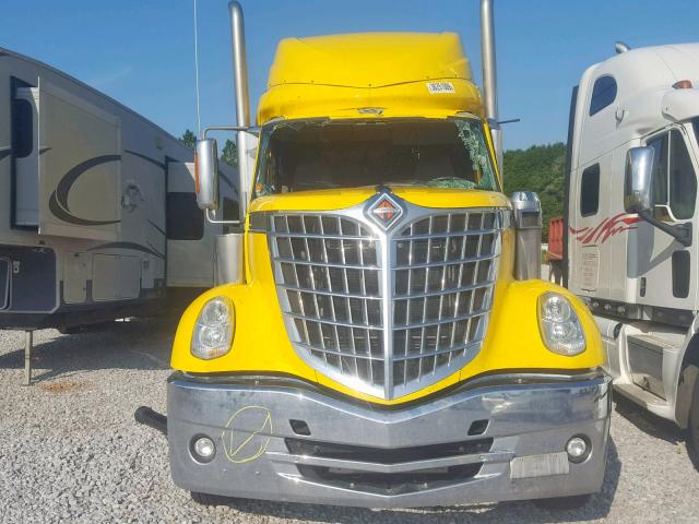 3HSCXAPR7GN361365 - 2016 INTERNATIONAL LONESTAR YELLOW photo 9