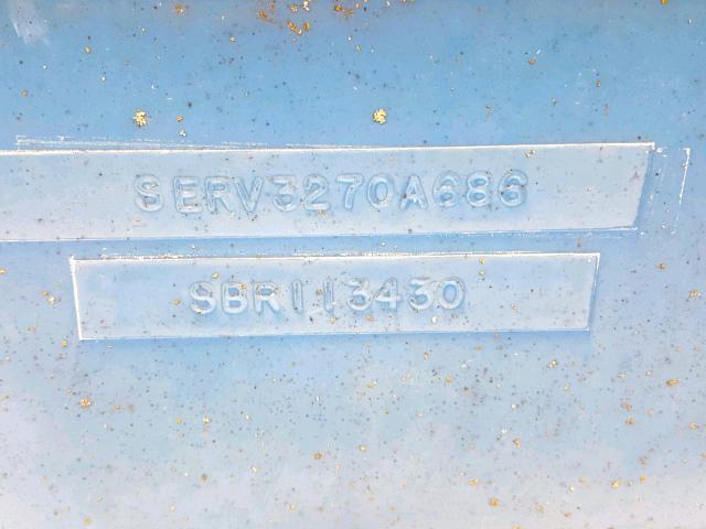 SERV3270A686 - 1986 SEAR MARINE LOT BLUE photo 10