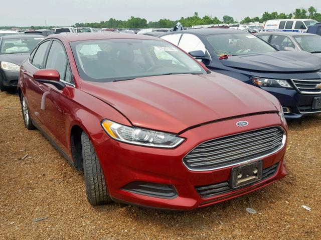 2016 FORD FUSION S,