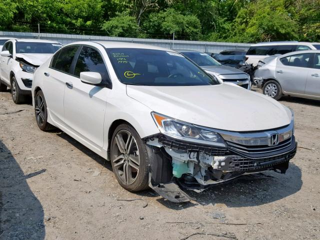 2017 Honda Accord White >> 2017 Honda Accord Spo White 1hgcr2f51ha067781 Price History History Of Past Auctions
