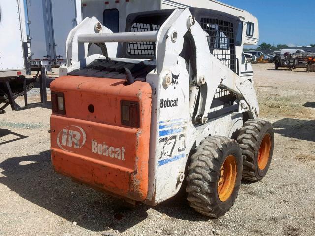 517619201 - 2005 BOBCAT S250  WHITE photo 4
