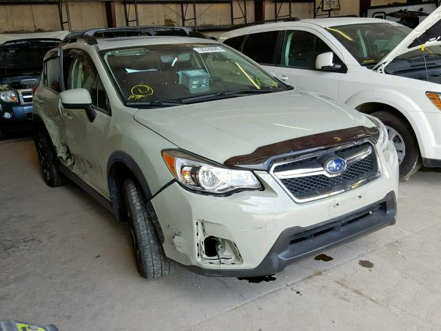 JF2GPABC1H8225436 - 2017 SUBARU CROSSTREK TAN photo 1