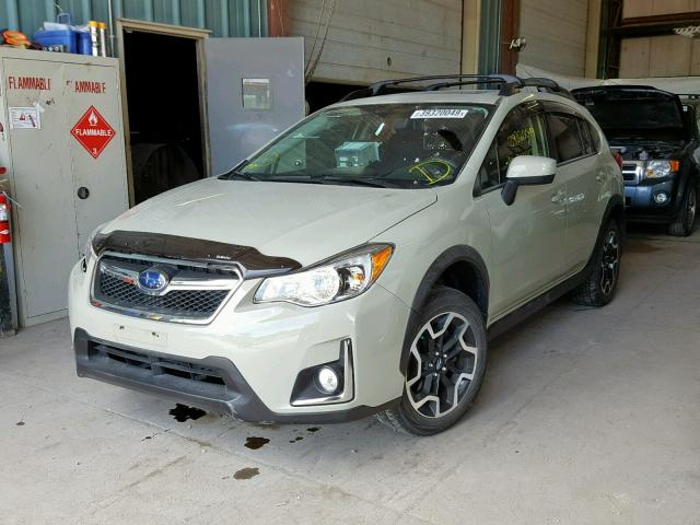 JF2GPABC1H8225436 - 2017 SUBARU CROSSTREK TAN photo 2
