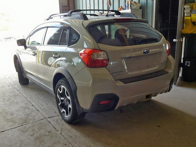 JF2GPABC1H8225436 - 2017 SUBARU CROSSTREK TAN photo 3