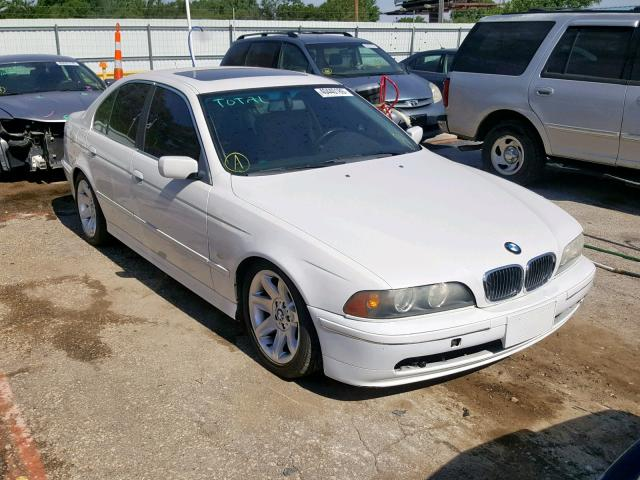 Wbadt43441gf55556 2001 Bmw 525 I Auto White Price History History Of Past Auctions Prices And Bids History Of Salvage And Used Vehicles