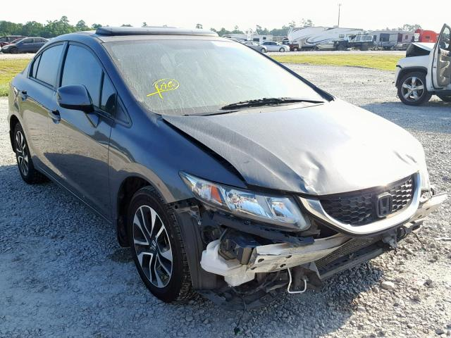2013 HONDA CIVIC EXL,