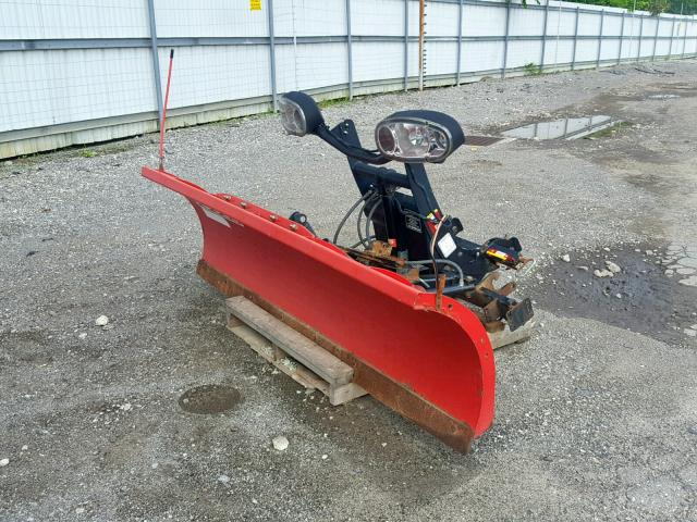 BC043821 - 2000 BOSS PLOW RED photo 2
