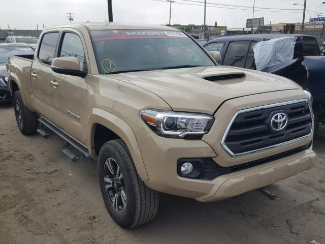 Tan Toyota Tacoma >> 2017 Toyota Tacoma Dou Tan 3tmdz5bn6hm016905 Price History History Of Past Auctions