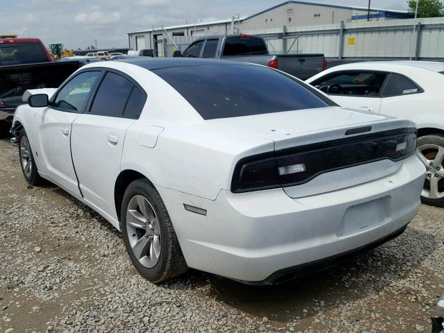 2C3CDXBG3DH639676 - 2013 DODGE CHARGER SE WHITE photo 3