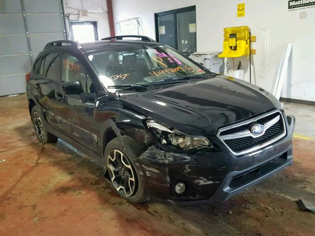 JF2GPADC7G8219961 - 2016 SUBARU CROSSTREK BLACK photo 1