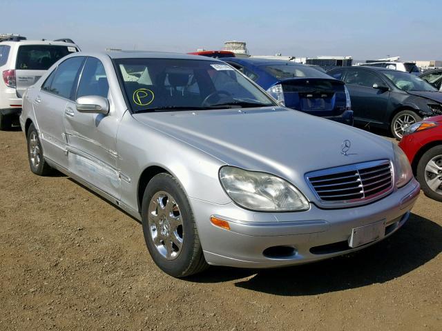 2000 MERCEDES-BENZ S 500,