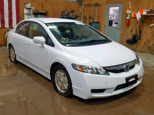 2010 HONDA CIVIC HYBR,