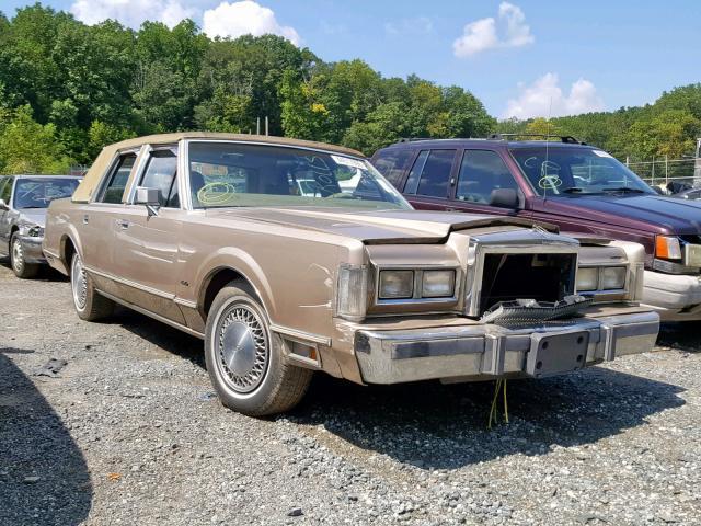 1988 LINCOLN TOWN CAR,