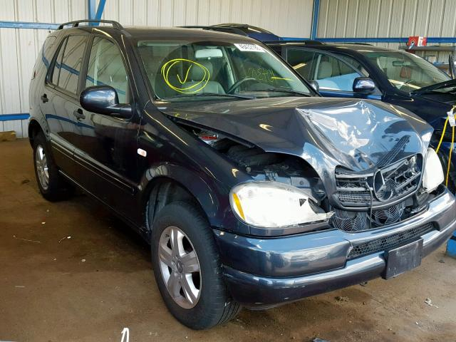 2000 MERCEDES-BENZ ML 320,