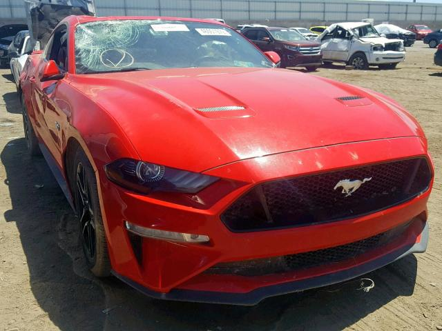 2018 Ford Mustang Gt >> 2018 Ford Mustang Gt Red 1fa6p8cf2j5143739 Price History History Of Past Auctions