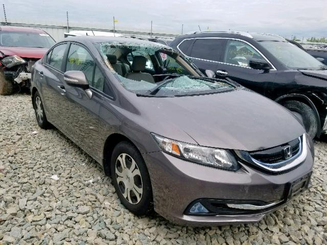 2013 HONDA CIVIC HYBR,