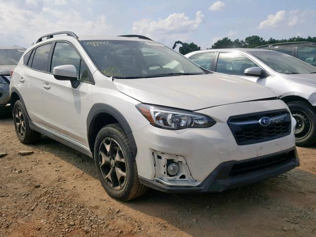 JF2GTADC1JH322263 - 2018 SUBARU CROSSTREK WHITE photo 1