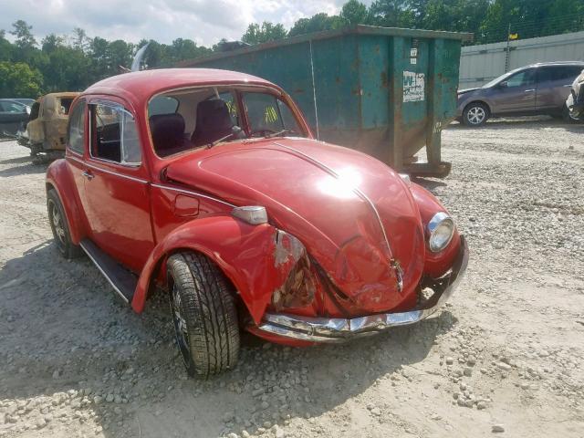 1973 Volkswagen Beetle >> 1973 Volkswagen Beetle Red 1132632620 Price History History Of Past Auctions