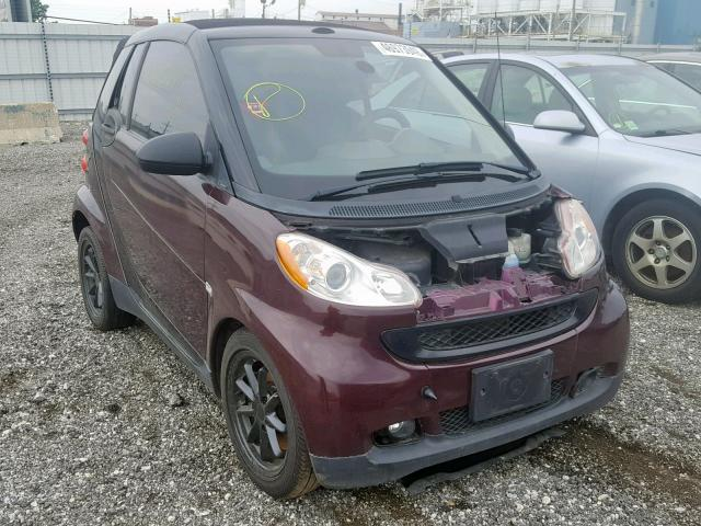 2008 SMART FORTWO PAS,