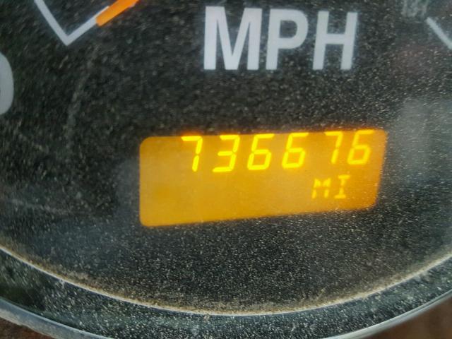 2HSCESBR47C517141 - 2007 INTERNATIONAL 9200 9200I RED photo 8