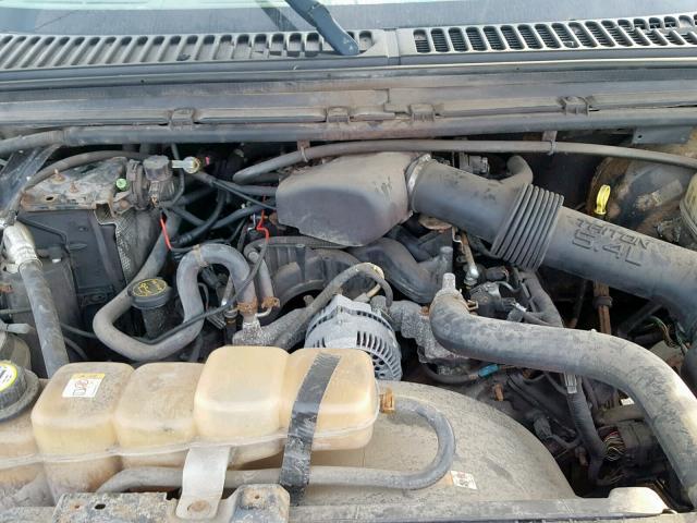 3FTNX21L64MA13750 - 2004 FORD F250 SUPER SILVER photo 7