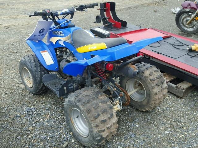RFZ9EE0C25A016111 - 2005 ETON VIPER 90 BLUE photo 3