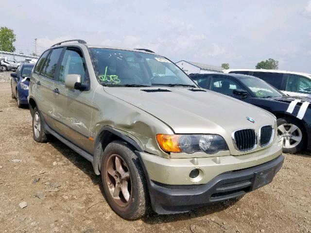 2001 BMW X5 3.0I,