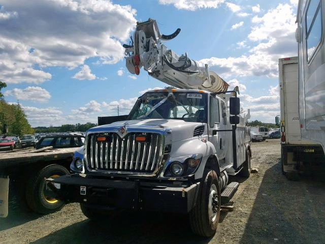 3HAWCTARXHL576687 - 2017 INTERNATIONAL 7000 7400 WHITE photo 2
