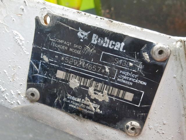 529211657 - 2006 BOBCAT S130 SKIDS WHITE photo 10